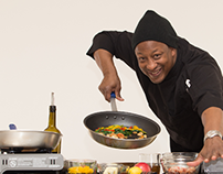 Cooking with Chef Osean