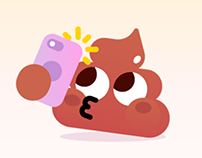The Poops – Animated Stickers