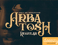 Arbatosh Regular - Free Font