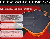 Printed Material Update: Legend Fitness VibePlate Flyer