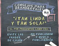 """""""Consejos para Neandertales"""" / Susana y Elvira"""