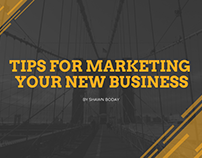 Tips For Marketing Your New Business