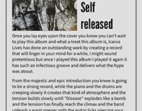 Icarus Lives-Vantablack