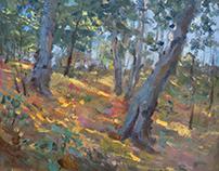 """September"" canvas oil 50x60"