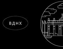 VDNKh icons