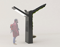 Urban forest – a ecological bus stop