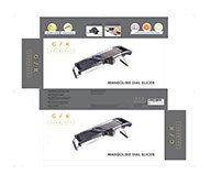 Mandoline Dial Slicer Box Design