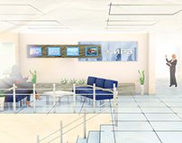 IRZ Office Lobby (interior design)