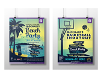 McDonald's Beach Party