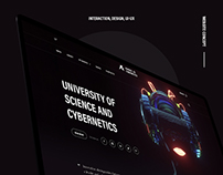 University | Website concept