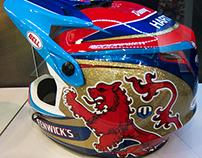 Danny Hart / Bell Helmet design