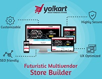 Yo!Kart - Multivendor System To Launch Online Store