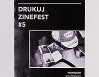 Posters for independent artbook fair DRUKUJ! ZINEFEST