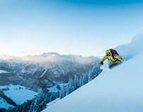 Freeride Skiing and Snowboarding