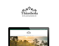 Thiashola Website Design
