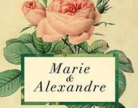 Marie & Alexandre / Wedding Design