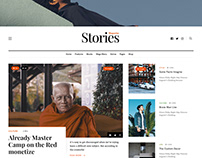 Stories WordPress Blog & Magazine Theme