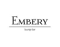 Identity for Embery lounge bar