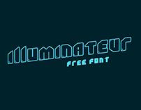 Illuminateur - Free Font.