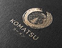 Komatsu Ramen Logo