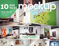 Poster Mockup vol.2 - Context Frames