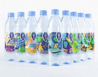 Danone - Health Water X MEIYIJIA Packaging Design
