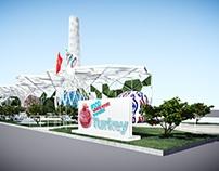 EXPO 2015 TURKEY PAVILION - MILANO