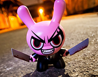 Mad Rabbit – Dunny 8″ Custom (Watch Your Back!)