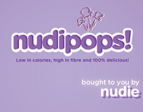Nudie packaging - Nudipops! popcorn