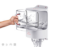 Water Mask Dispenser / 2016