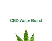 CBD Bottled Water Concept