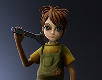 Stylized Game character