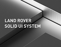 Land Rover Solid UI System