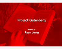 Project Gutenberg Redesign