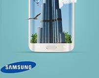 Samsung Mobile Poster