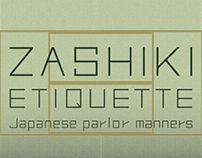 Zashiki Etiquette | Motion Graphic