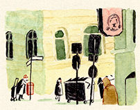 comic-reportage published at DIE ZEIT