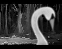 The Swan - black & white