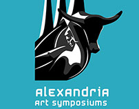 Alexandria Art symposiums 2015 Logo