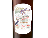 Création étiquette whisky - Ggraphiste Loolye Labat