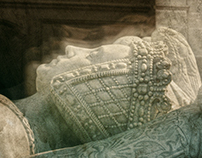 The tomb of Francis II, Duke of Brittany and his wife M