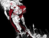 Commission: Codex - The Madness of Cu-Chulainn