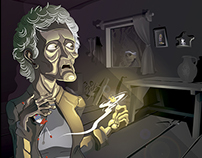 ILUSTRACION / El muerto que contó su historia