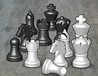 Chess Artwork - Pieces and Board Art Assets
