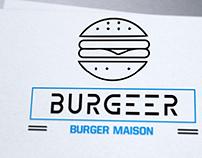 Création logo burger, Loolye Labat