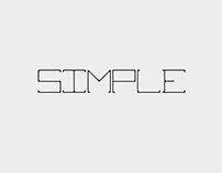 SIMPLE - Free Font