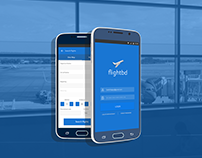 Flightbd - Flight booking app design concept