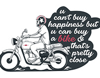 Happiness is… riding a bike!