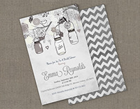 4x6 inches Invitation Card Mockup v2