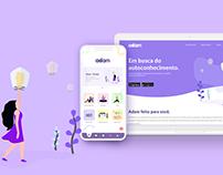 Adam - Aplicativo e Site